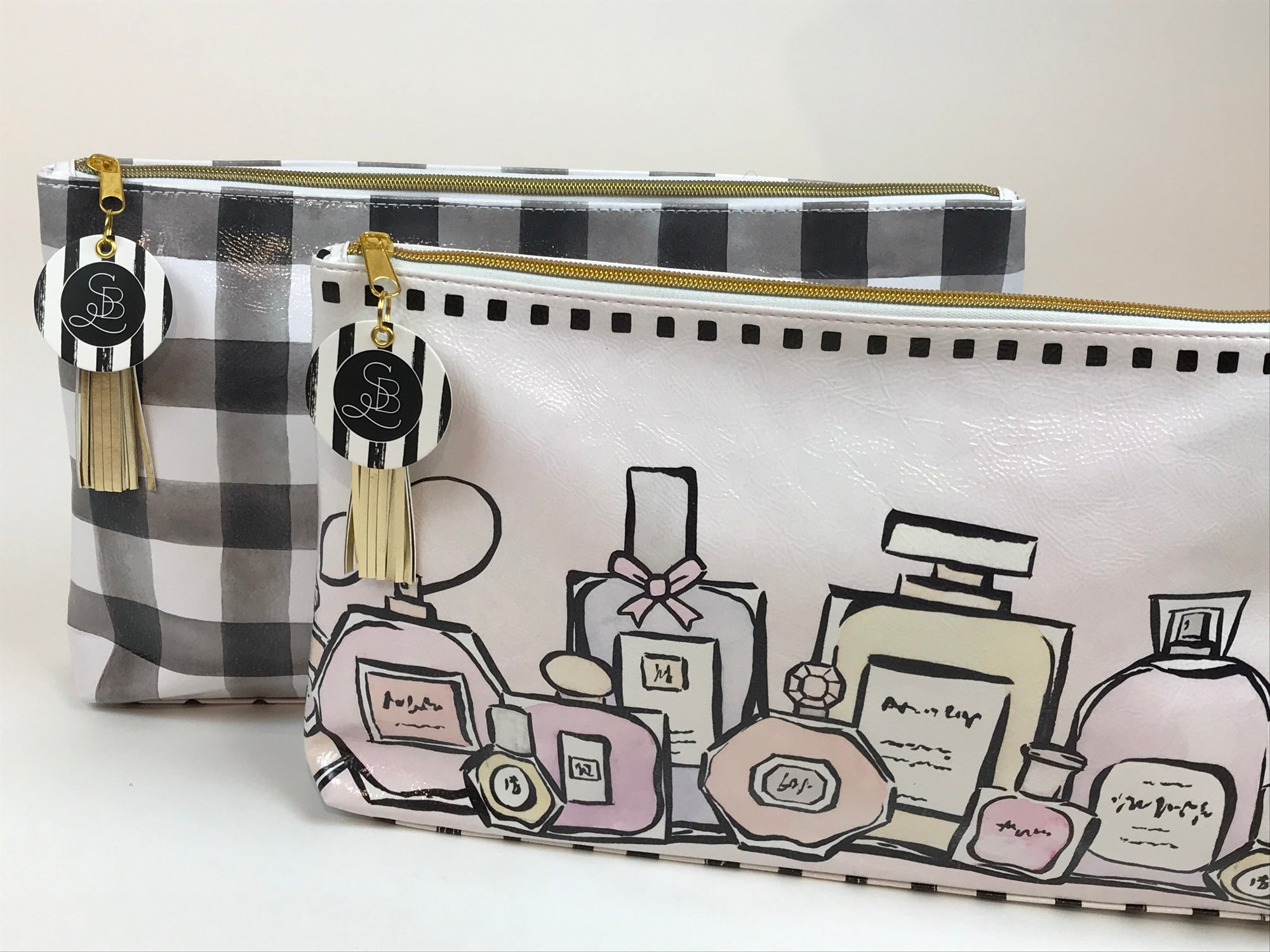 Oil cloth designer bags