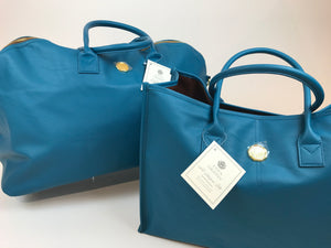 Peacock Blue Duffle