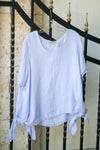 Greece Linen Blouse