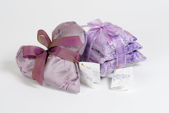 Lavender Sachet - 3 pillow pack