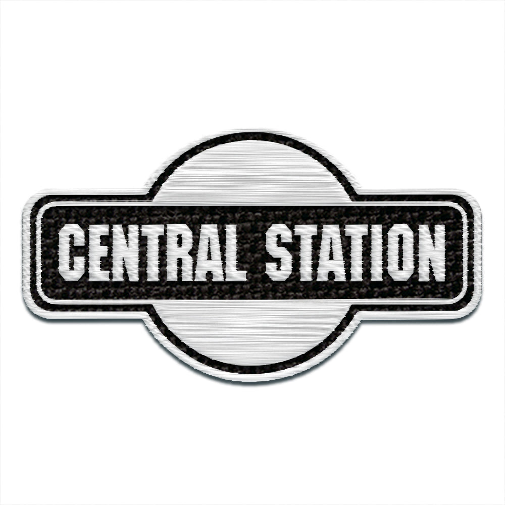 Central Station Embroidered Patch