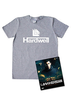 Hardwell DVD and Logo T-shirt