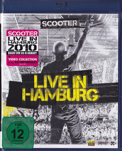 SCOOTER - LIVE IN HAMBURG (BLU RAY)