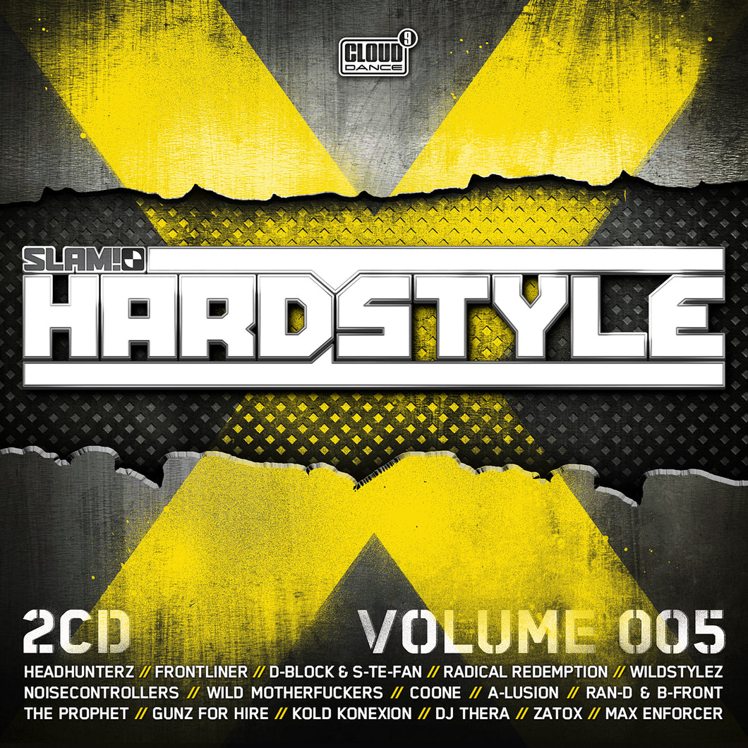 Slam! Hardstyle Vol. 5