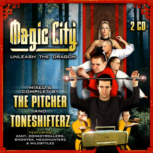 The Pitcher and Toneshifterz - MAGIC CITY