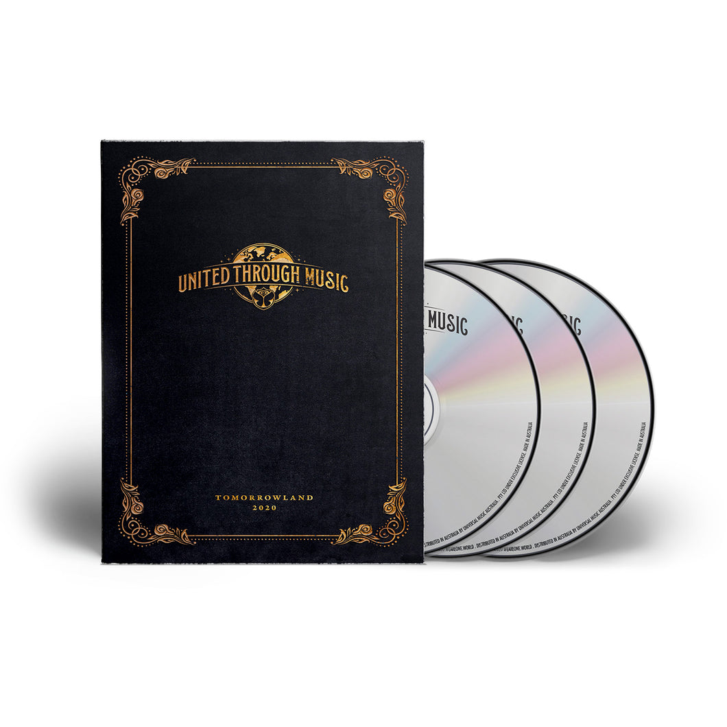 Tomorrowland 2020: United Through Music (3CD) [PRE-ORDER]