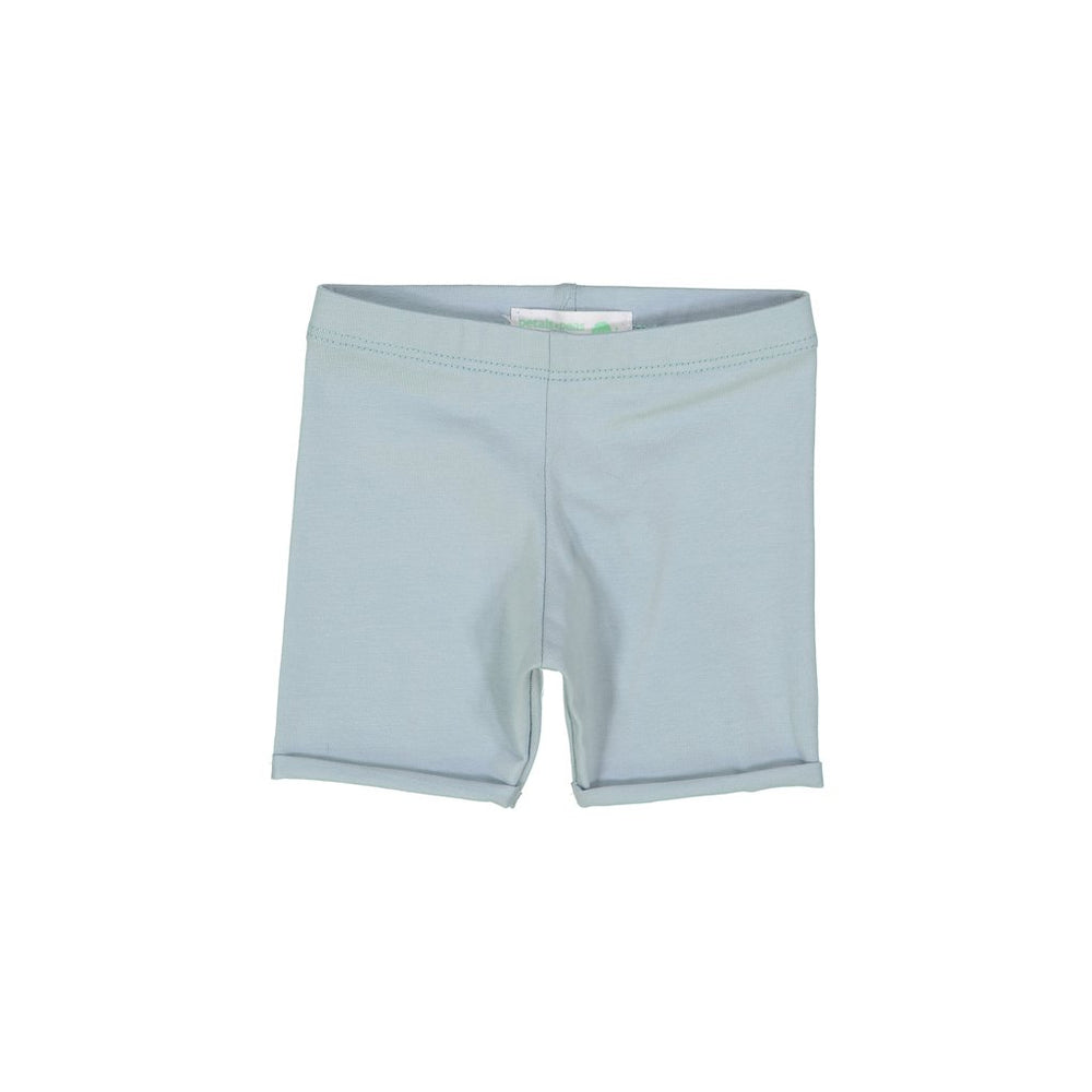 Petals & Peas Roll Up Shorts - Ocean