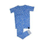 Sweet Bamboo Abc Pajamas - Blue