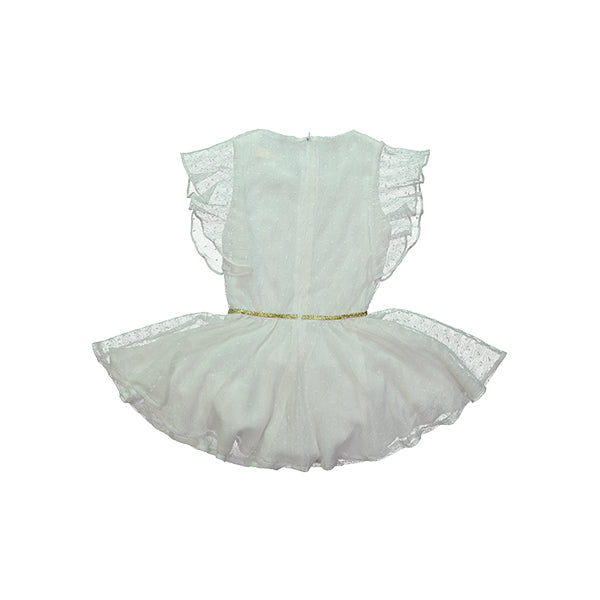 Mademoiselle a Soho Tigress Dress - White Tulle