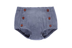 Petit Clair Baby Bloomer - Grey Denim