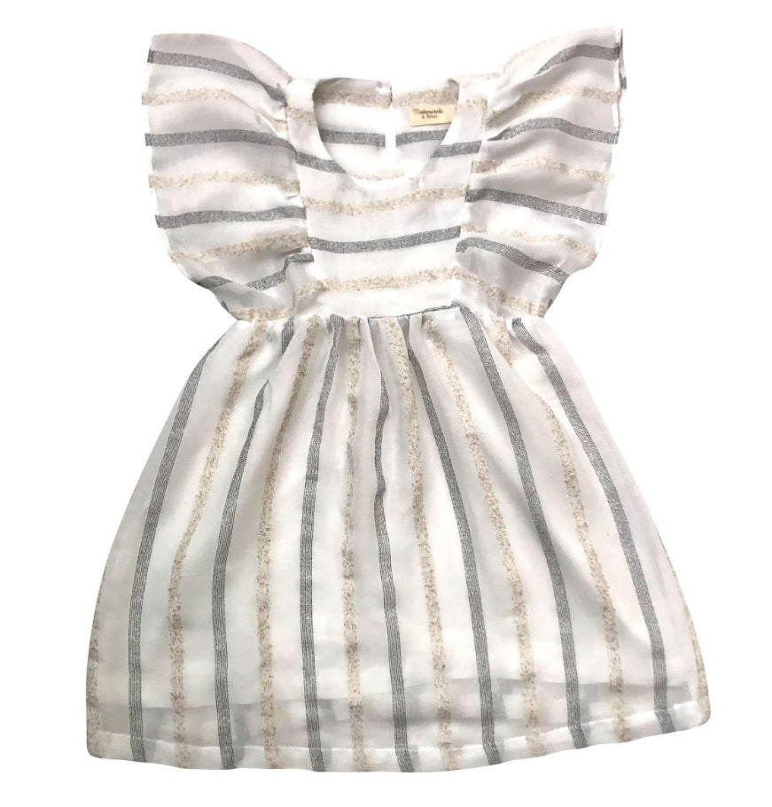 Mademoiselle a Soho Renee Dress Stripes