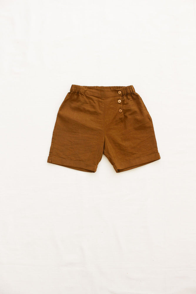 Fin & Vince Short Trousers - Toffee