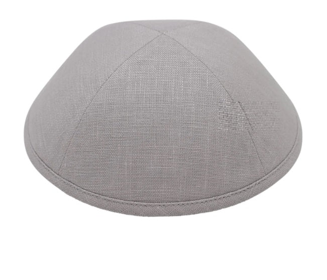iKippah Light Grey Linen