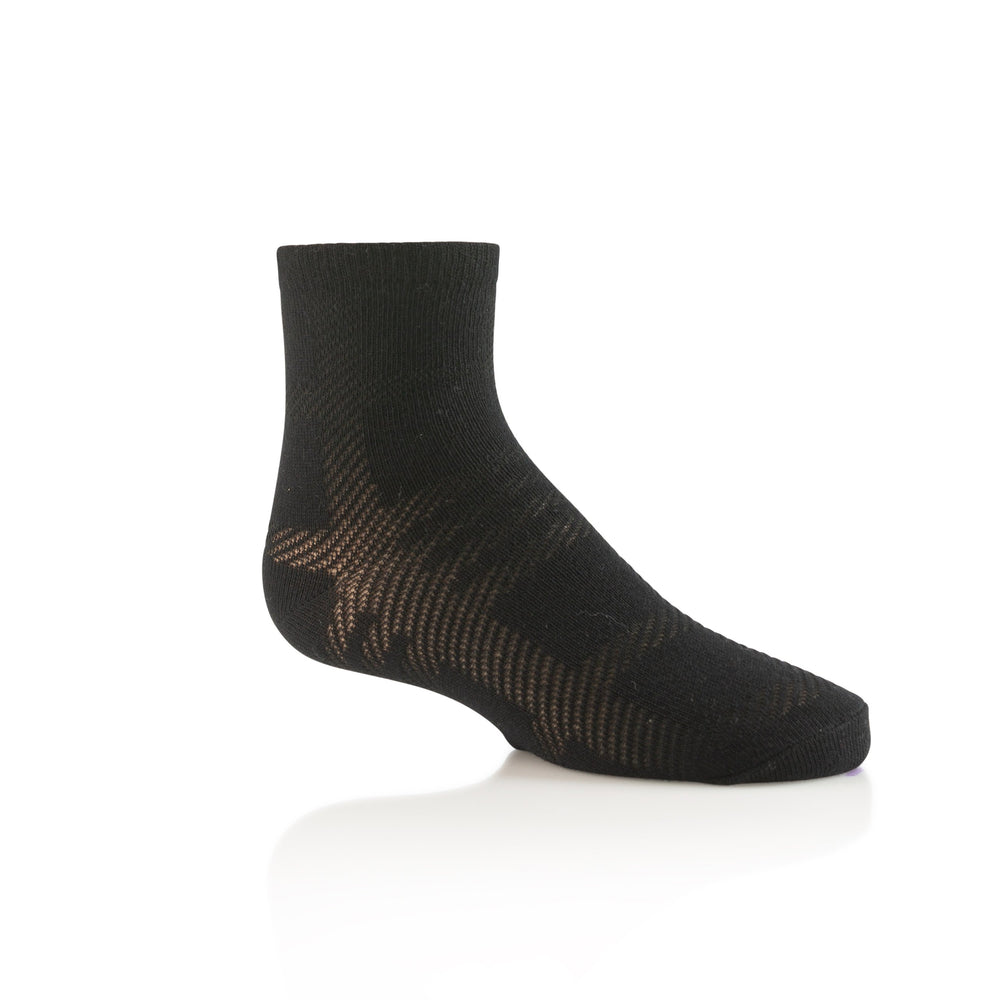 Zubii Plaid Ankle Sock - Black