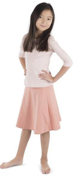 Three Bows Camp Skirt - Pale Pink