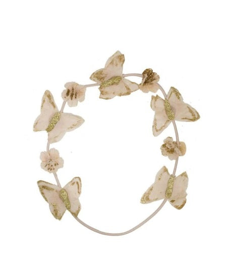 Project 6 Butterfly Wreath - Blush