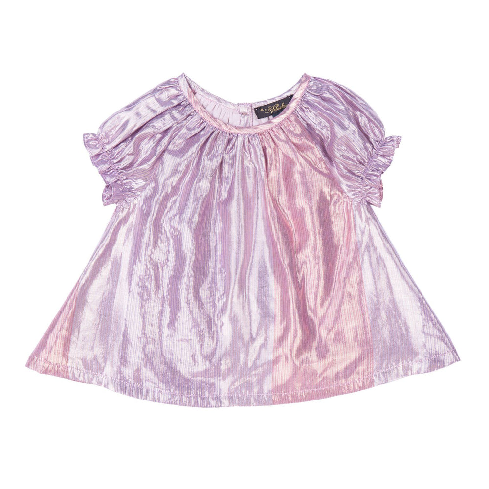 Velveteen Metallic Gradient Baby Top