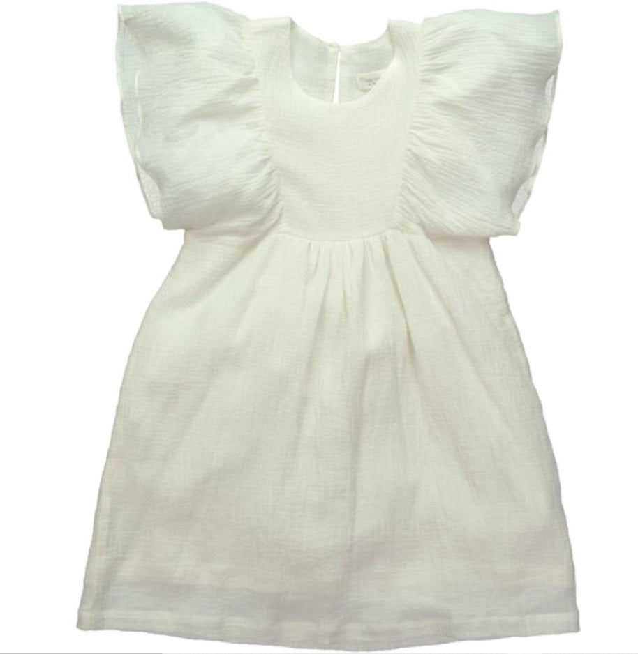 Mademoiselle a Soho Renee Dress - White Gauze