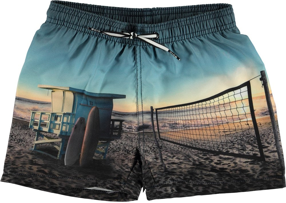 Molo Boys Board Shorts - On The Beach