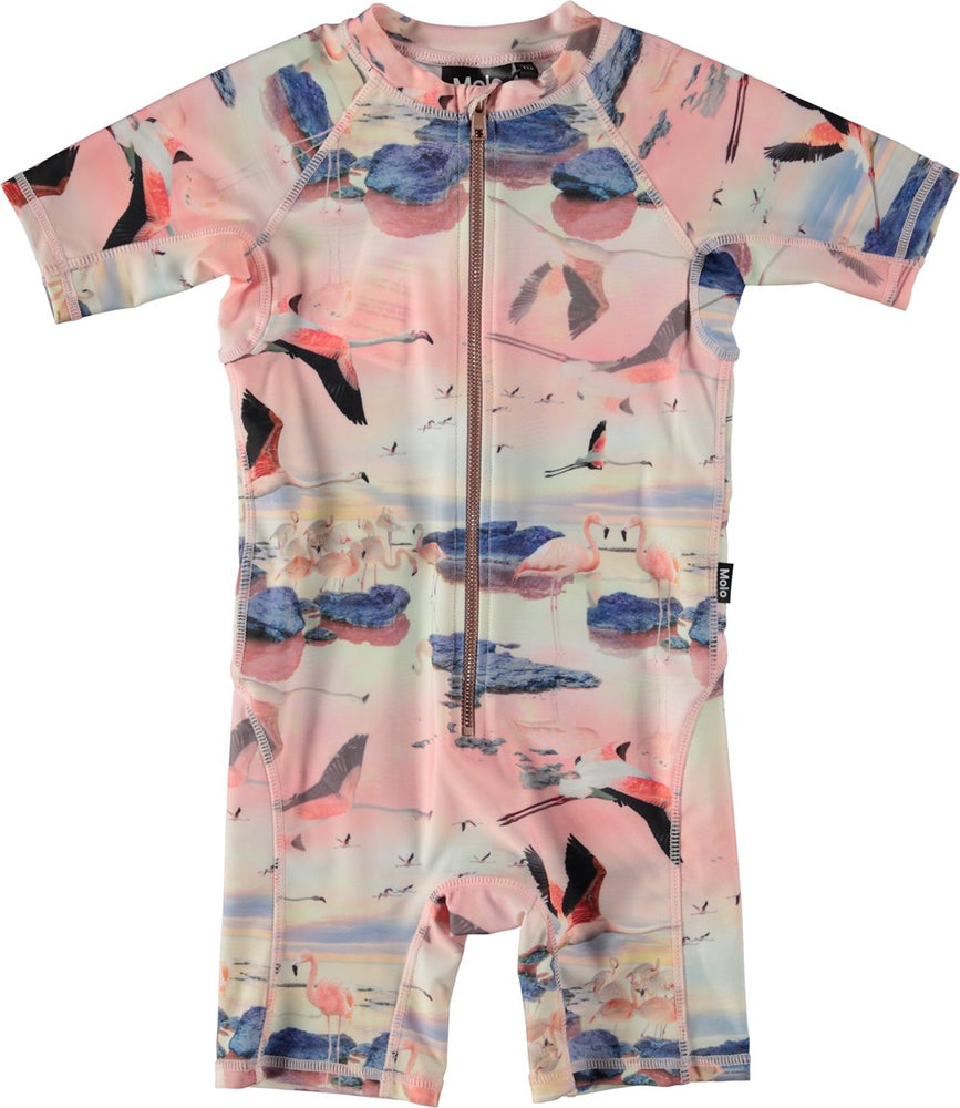 Molo Baby Swimsuit - Flamingo