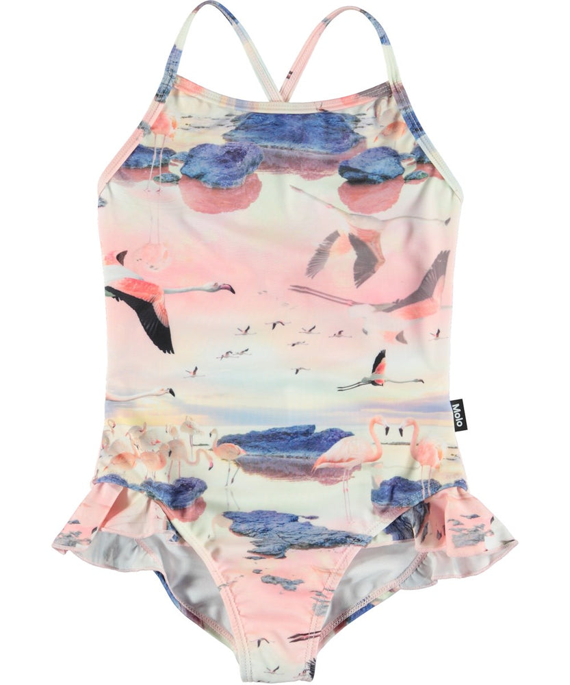Molo Flamingo Swimsuit