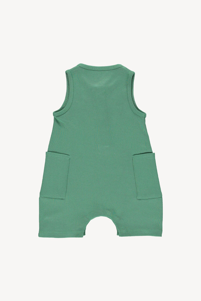 Fin & Vince Short Jumpsuit - Schoolhouse Green