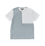 Pompomme Square Shirt - Dusty Blue