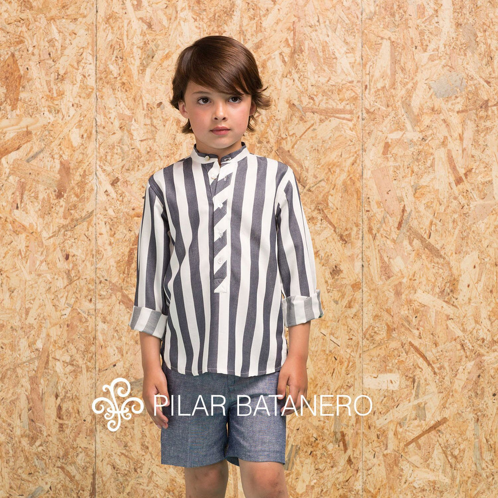 Pilar Batanero Thick Stripe Shirt