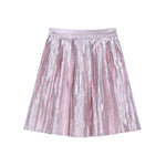Velveteen Paola Pleated Skirt