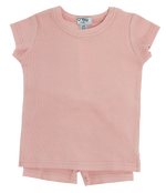 Crew Kids Short Rib Set - Blush