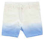 Crew Kids Tie Dye Shorts - Blue