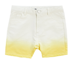 Crew Kids Tie Dye Shorts - Yellow