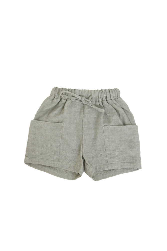 Belati Big Pocket Loose Bermudas - Sage