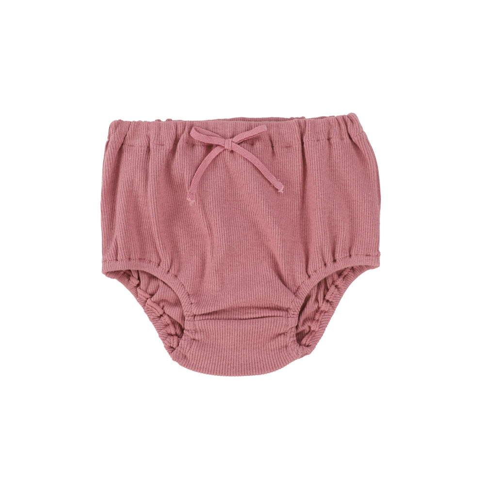 Lil Legs Ribbed Bloomers - Blush