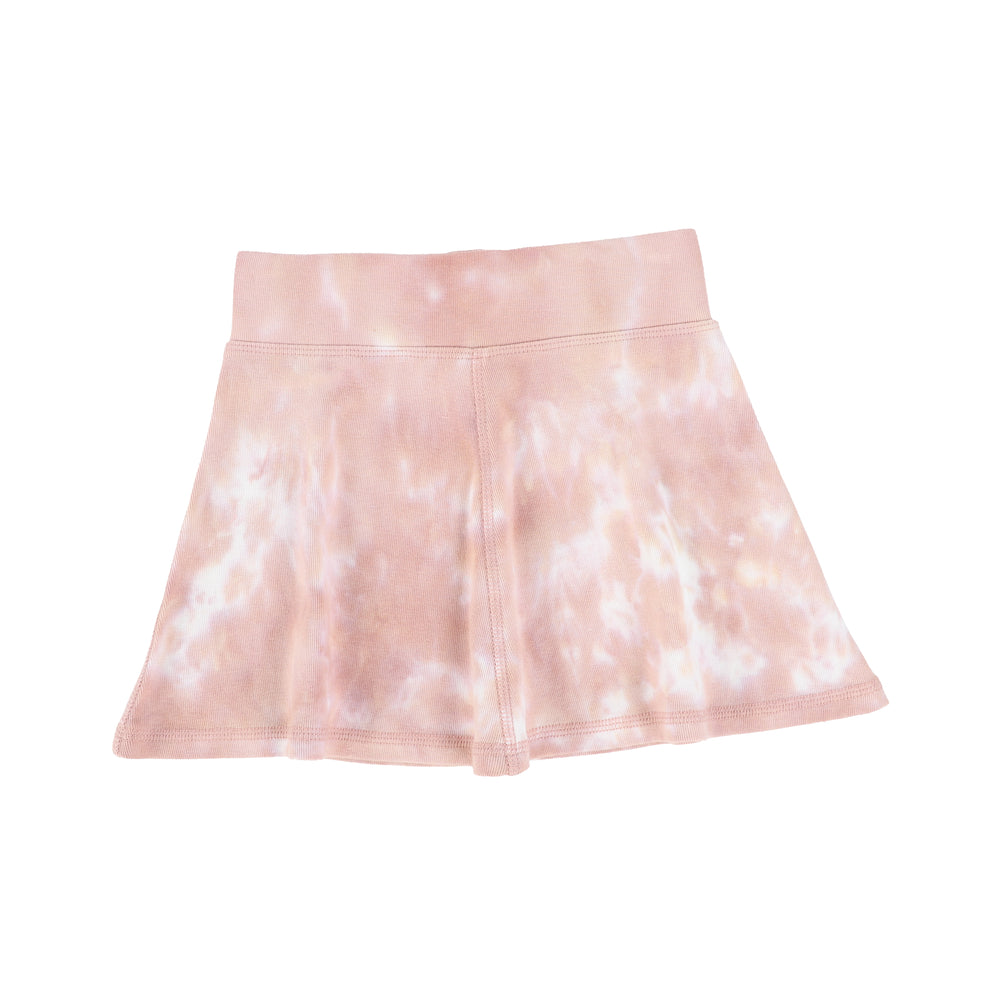 Analogie by Lil Legs Watercolor Skirt - Blush