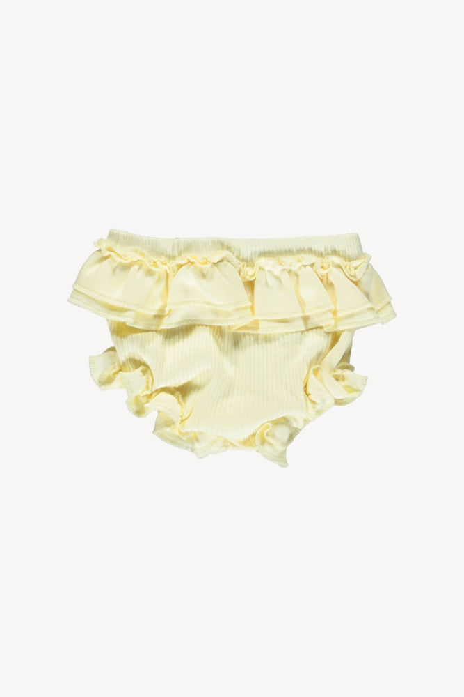Fin & Vince Ruffle Bloomer - Buttercream