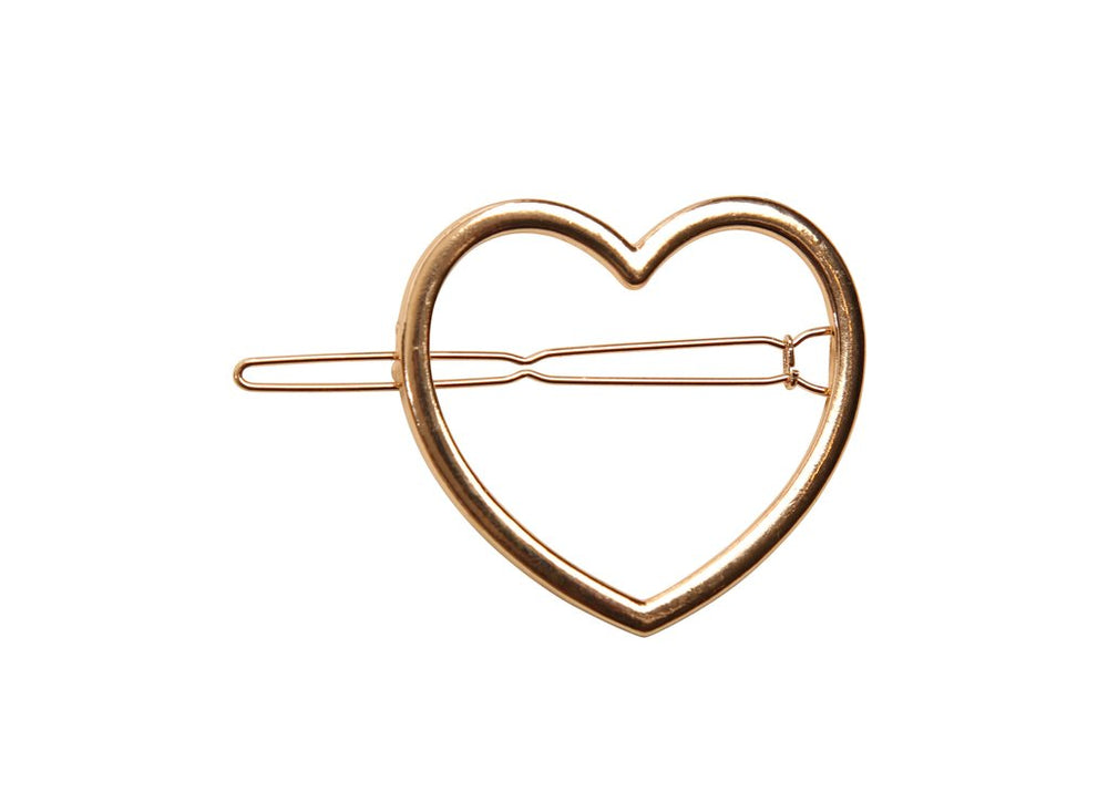 Heirlooms Heart Clip - Gold