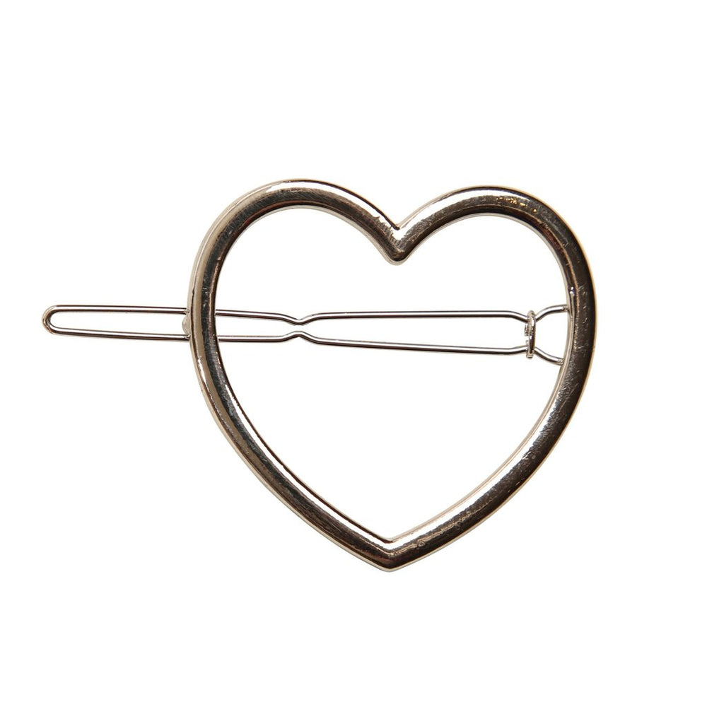 Heirlooms Heart Clip - Silver