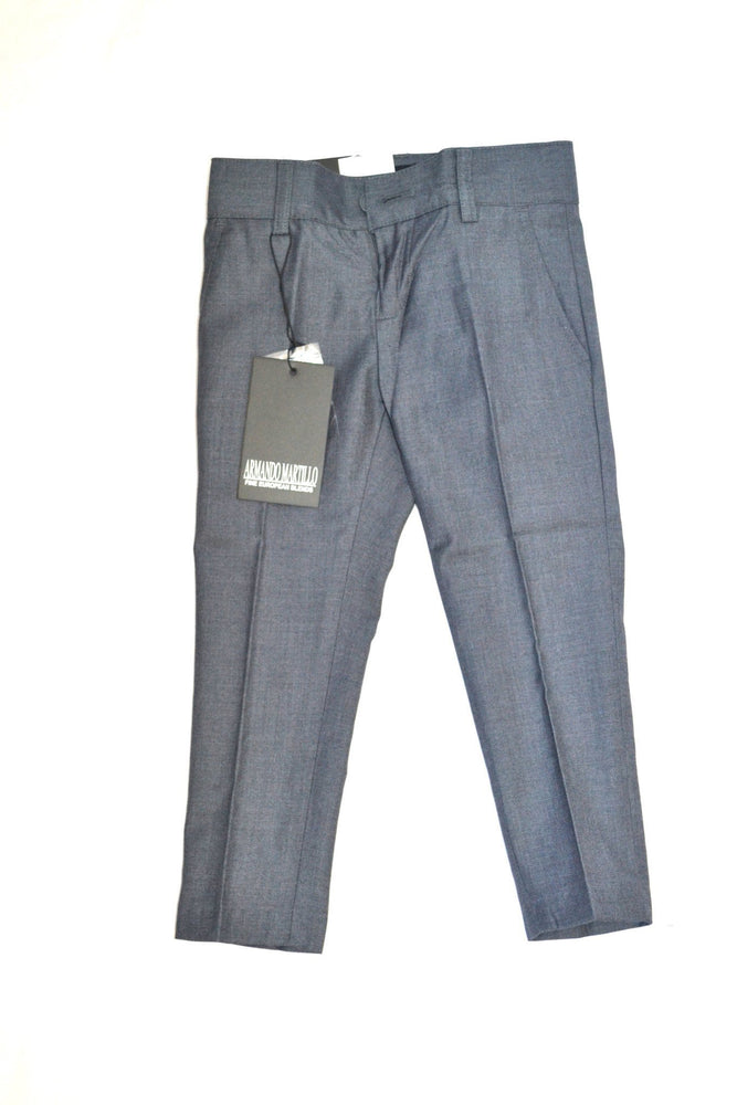Armando Martillo Husky Slim Dress Pant - Medium Grey