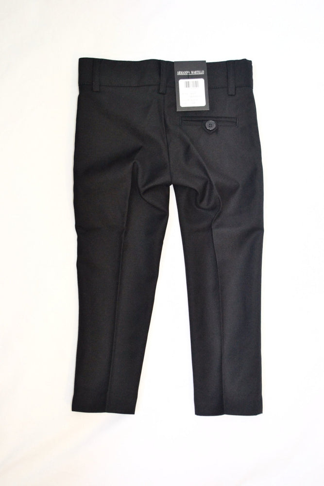 Armando Martillo Skinny Dress Pants - Black