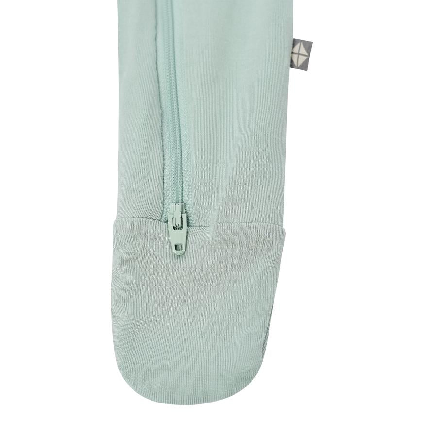 Kyte Bamboo Zippered Footie - Sage