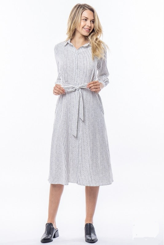 Dotted Line Dress