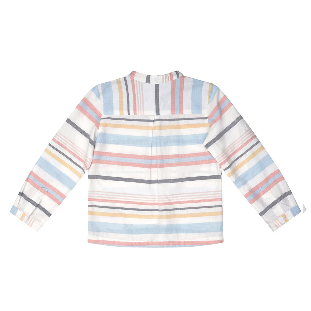 Velveteen Boys Multi Stripe Shirt