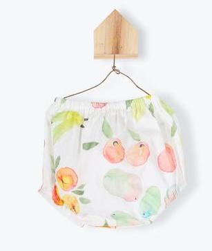 Arsene Baby Bloomer Fruit Print