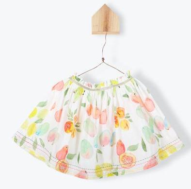 Arsene Fruit Print Skirt
