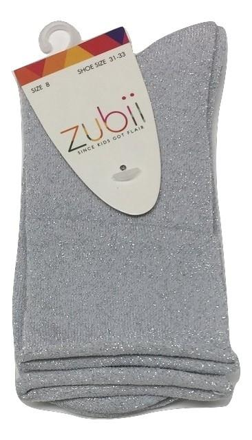 Zubii Ankle Sock - Sparkle Silver