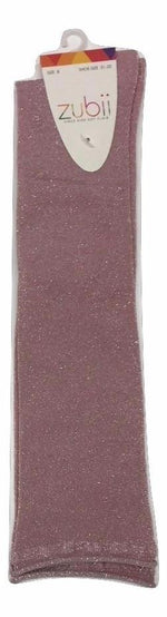 Zubii Knee Sock - Sparkle Pink