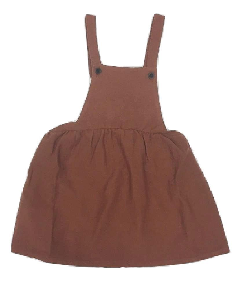 Sissonne Garnet Dungaree Dress