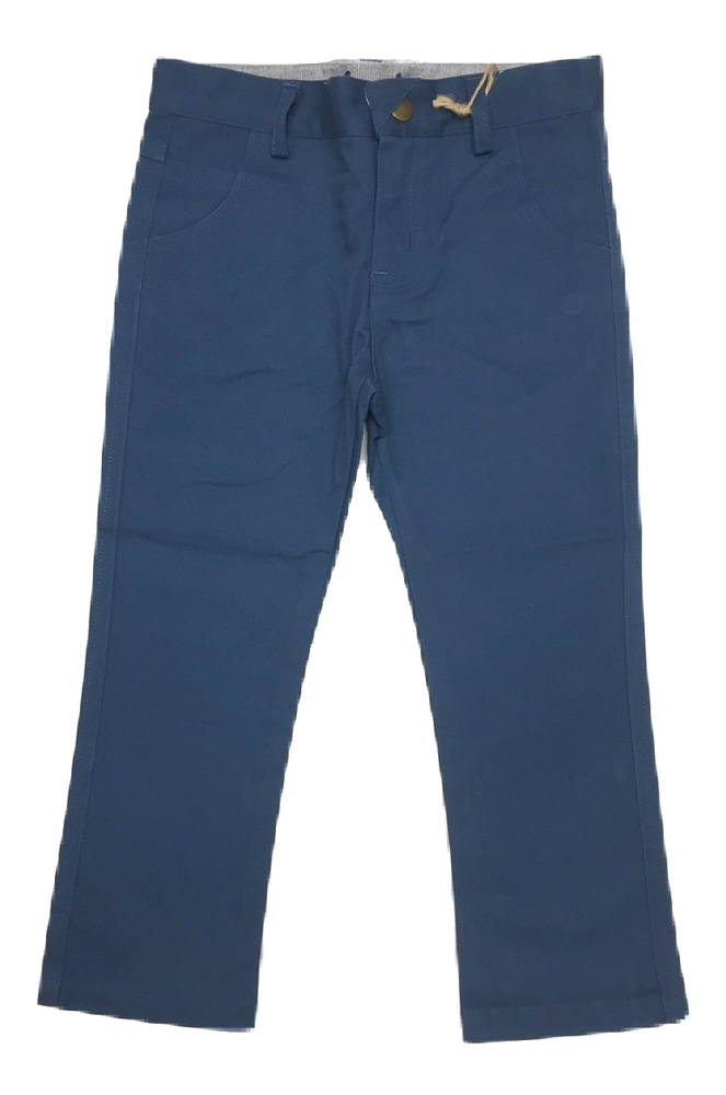 Crew Kids Boys Long Chinos - Teal