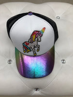 Bari Lynn Trucker Hat - Unicorn